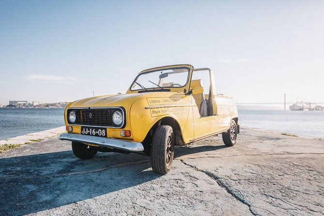Full day Lisbon tour in a Renault 4L Convertible