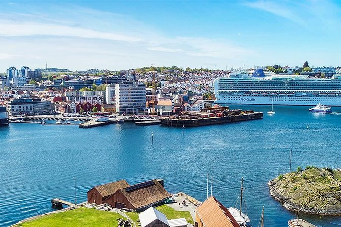 Stavanger City Island, Guided cruise tour