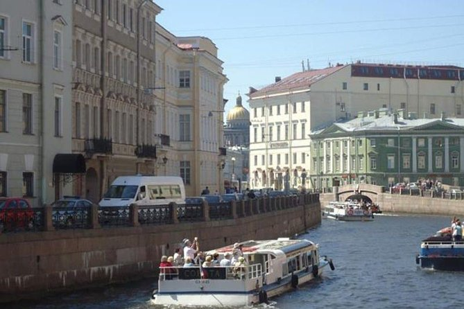 St Petersburg Boat Trip Through Rivers and Canals photo 6