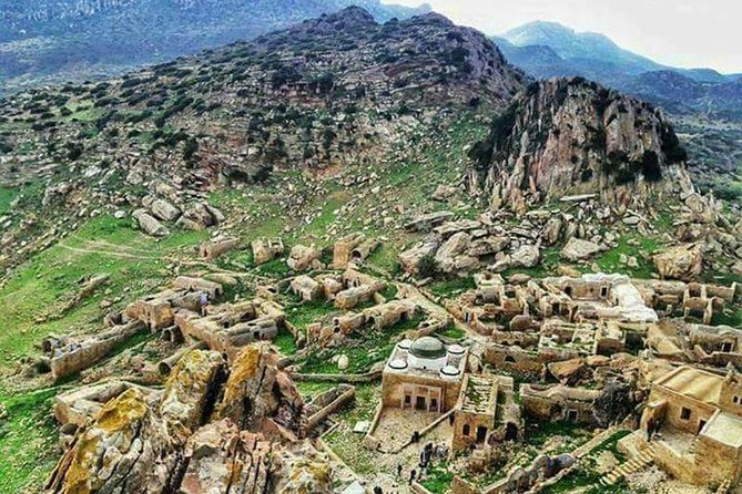 Out of time Berber villages Tekrouna and Zriba Alia