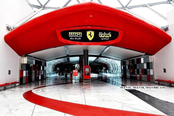 Ferrari World Trip with Private Transfer