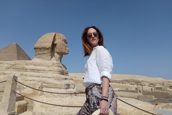 private tour Giza Pyramids, Sphinx and Sakkara with Camel ride photo 4