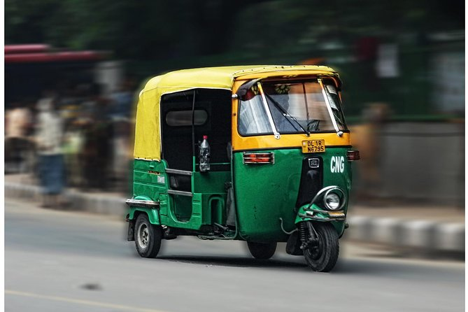 The Tuk Tuk Experience - A Drive Through Old Delhi
