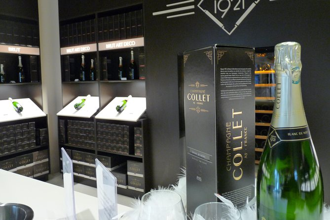 Day-trip for small groups in Champagne from Paris : cellar visit and tastings
