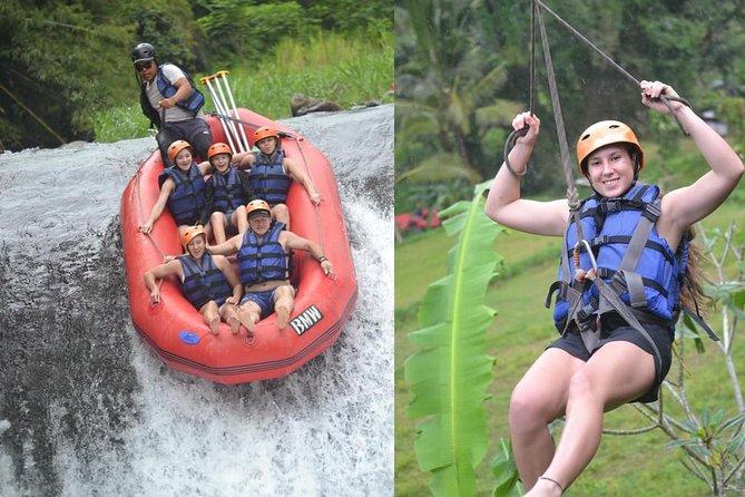 Zipline + Rafting