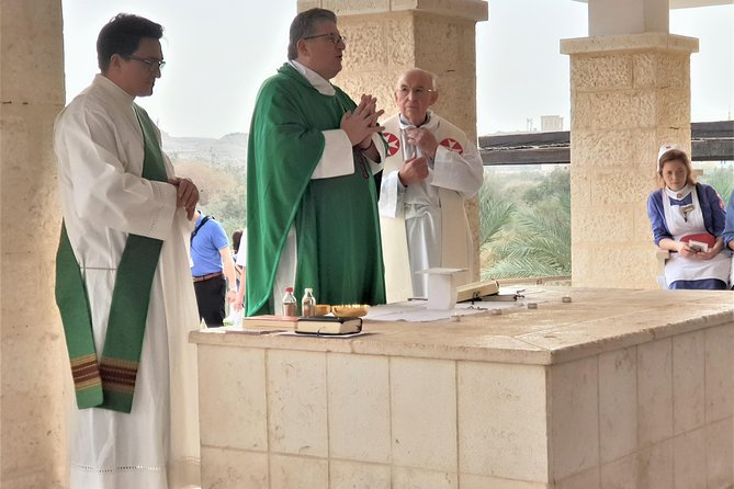 Mass at the Baptism Site