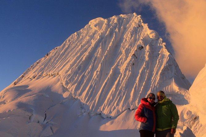 "Climbing Alpamayo ""The most beautiful mountain in the Wolrd"""