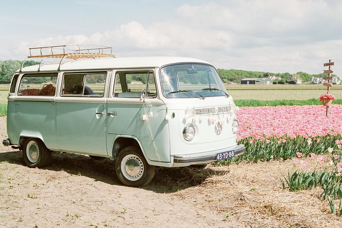 Keukenhof Tulip Fields Tour In Vintage 1973 Volkswagen Van photo 1