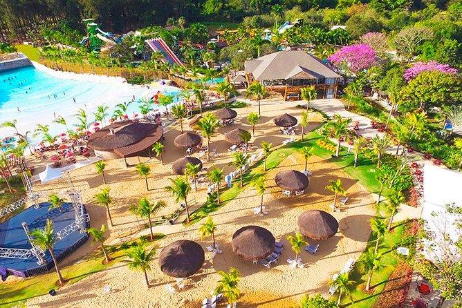 Day Use Ticket - Lagoa Termas Parque & Eco Praia - Caldas Novas - GO