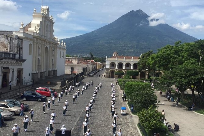 Colonial Antigua - Past and Present from Puerto Quetzal
