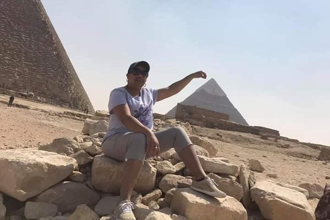 Giza Pyramids and Sakkara day tour