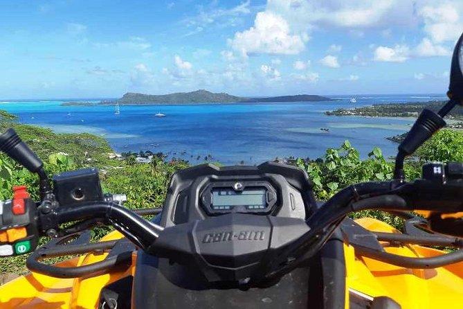 Island Tour & Getaway on the Bora Bora Mountains by Quad / ATV