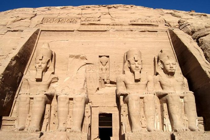 Abu Simbel temples by Private air-conditioin Vehicle