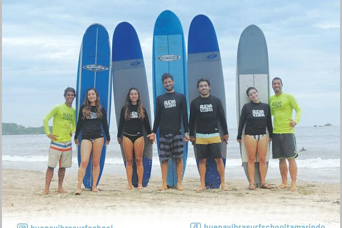 Buena Vibra Surf Lessons. Become in a surfer.