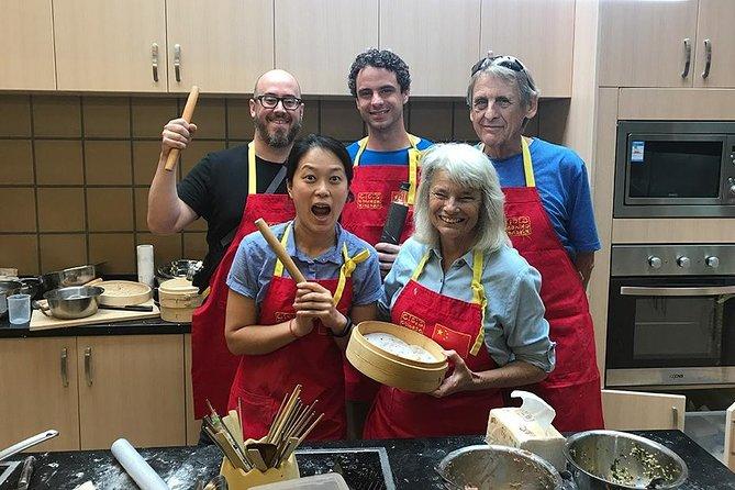 3 horas de aula de culinária chinesa: bolinhos coloridos no vapor