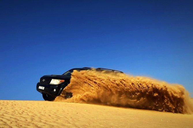 Red Dunes Desert Safari Dubai with BBQ - dinner, Sandboarding