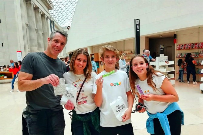 Exclusive London British Museum Tour with Top Rated Guide