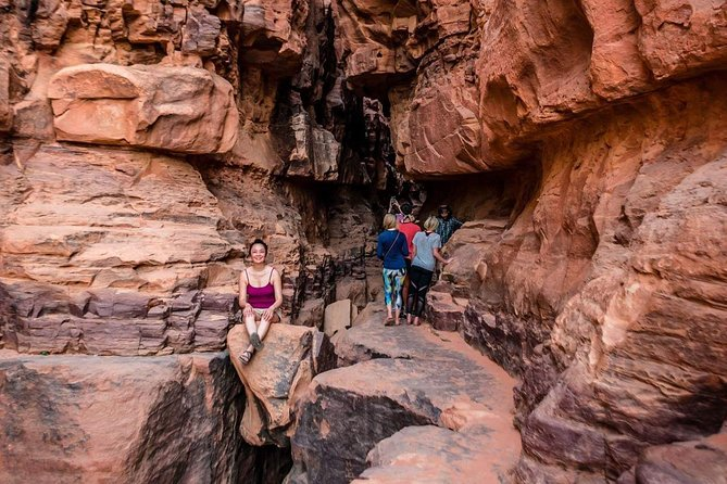 Hiking adventure in Wadi Rum