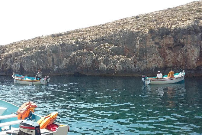 Beautiful Wied iz-Zurrieq where you can take a boat trip to see the caves, the best way to experience the true beauty of the area.