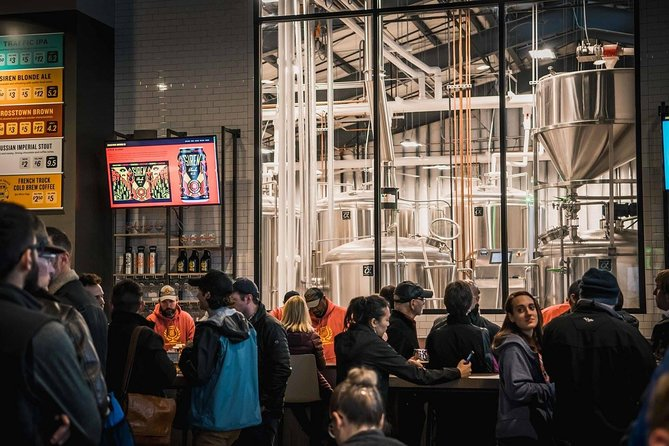 Memphis Brew Bus Tour with Three Local Breweries & Tastings