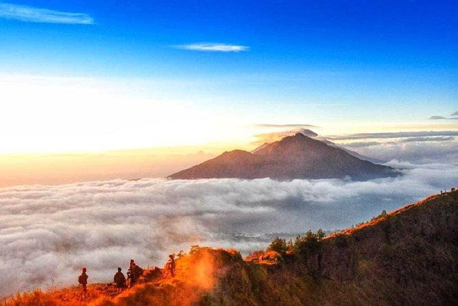 Bali: Mount Batur Sunrise Hike and Hidden Waterfall