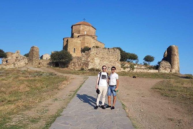 Mtskheta old capital of Georgia - Uflistsikhe cave city & Joseph Stalin Museum