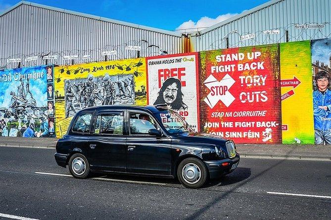 Political Taxi Tour Belfast (1-7 People)
