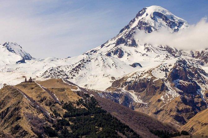 One day trip to highest mountains Kazbegi from Tbilisi