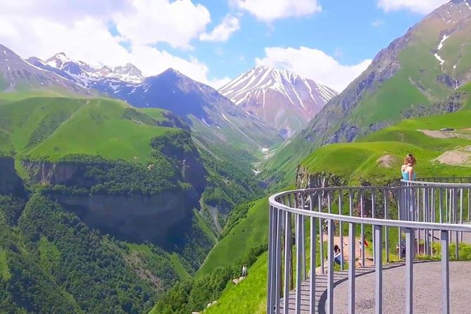 One day trip to highest mountains Kazbegi from Tbilisi