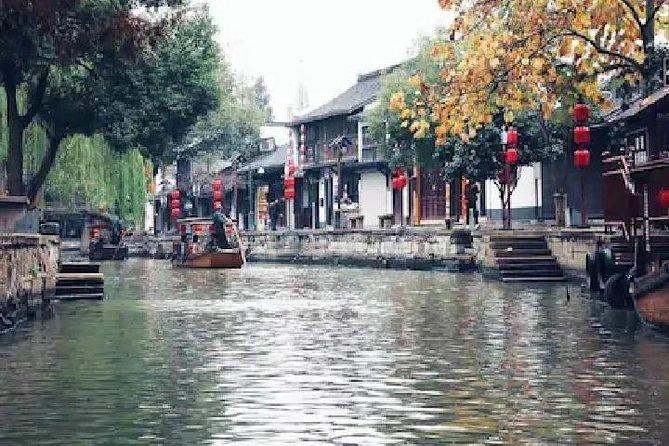 Private Day Tour in Shanghai: Zhujiajiao Water Town, Jade Temple and Tianzifang
