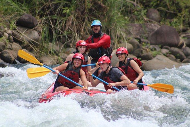 La Fortuna to San Jose FULL Rafting on the Sarapiqui Jungle Run Class 3-4