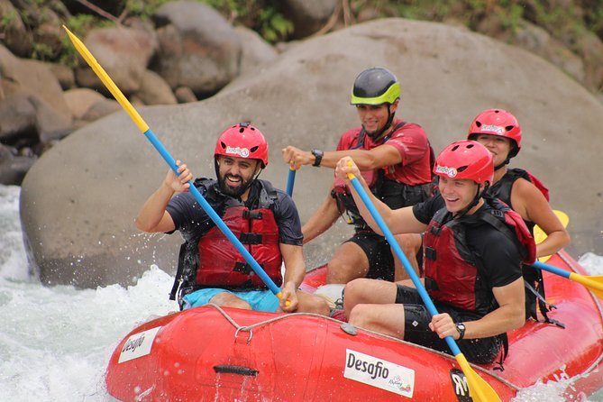 San José to La Fortuna Whitewater Rafting on the Sarapiqui River Class 2-3