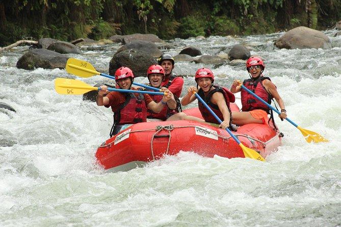 La Fortuna to San José Whitewater Rafting on the Sarapiqui River Class 2-3