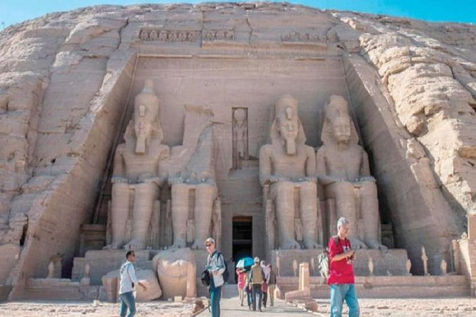 Abu Simbel is one of the many fascinating highlights in Egypt