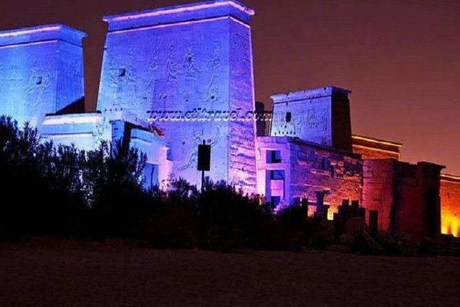 Sound and Light in Philae Temple