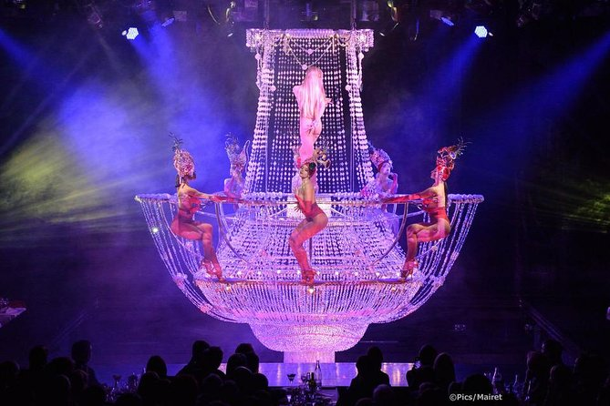 Seine River Cruise, Dinner & Cabaret Show at Lido de Paris