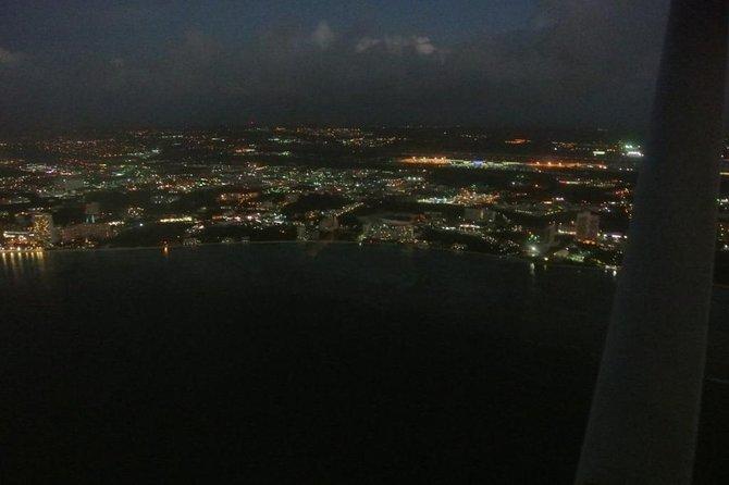 Sightseeing night flight N1: 13 min