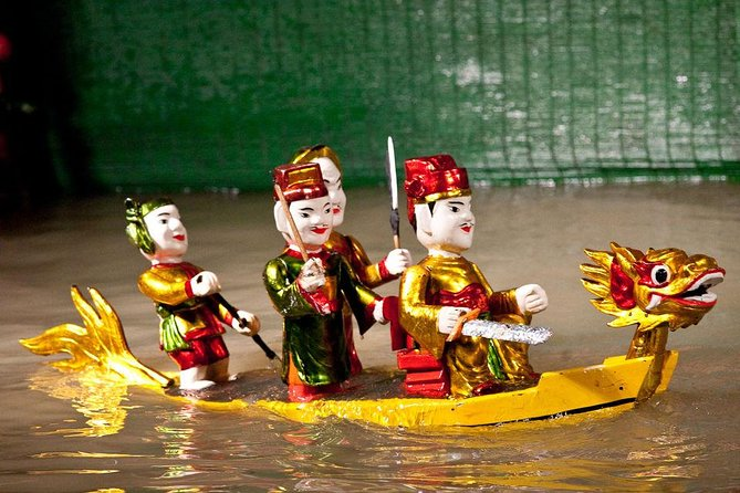 Skip the Line:Water Puppet Show Ticket - Plus Free Tour for Hanoi (Optional)
