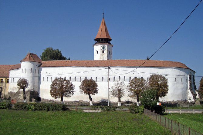 3 Fortified Churches Prejmer. Harman .Sampetru in one day trip from Brasov