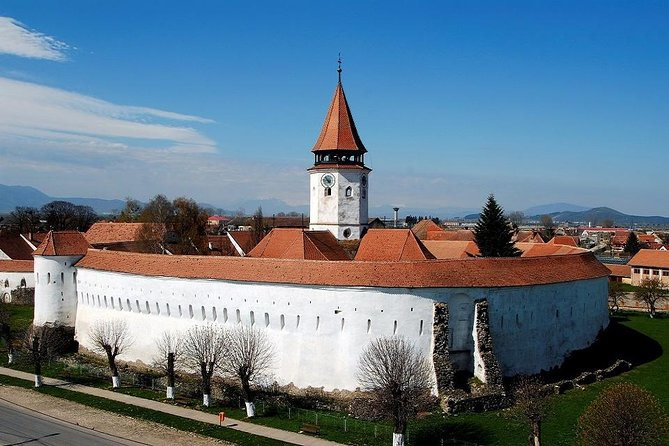 3 Fortified Churches Prejmer. Harman .Sampetru in one day trip from Brasov