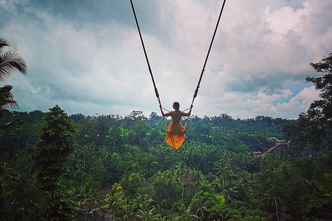Amazing Bali Swing and Uluwatu Sunset Tour