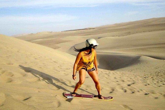 Dune Buggy and Sandboarding in the Ica Desert