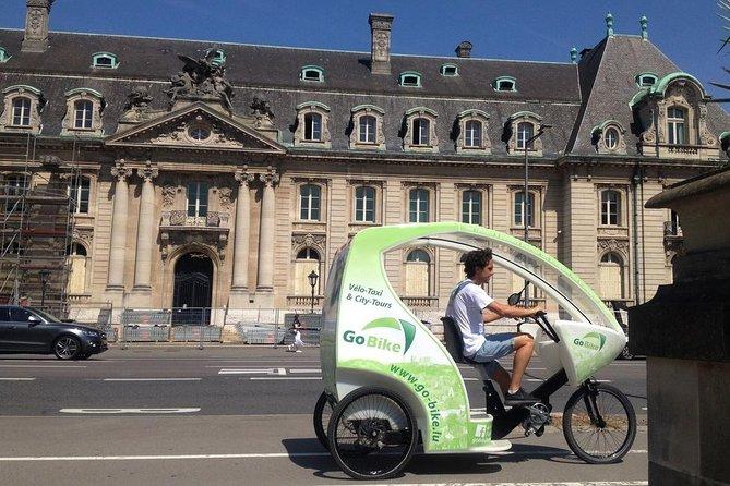 Taxi-Bike City Tours con conductor-guía en Luxemburgo