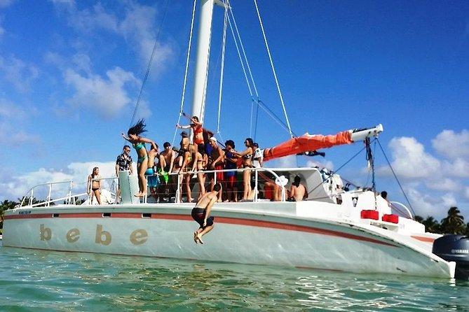 Halve dag catamarancruise en snorkelen vanuit Punta Cana