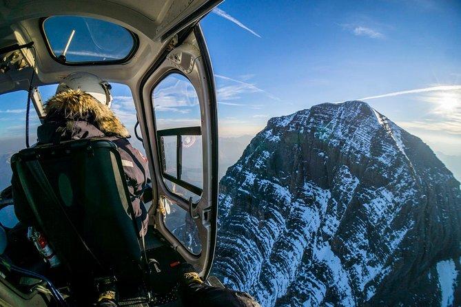 Ultieme Canadese Rockies helikoptertour met transport
