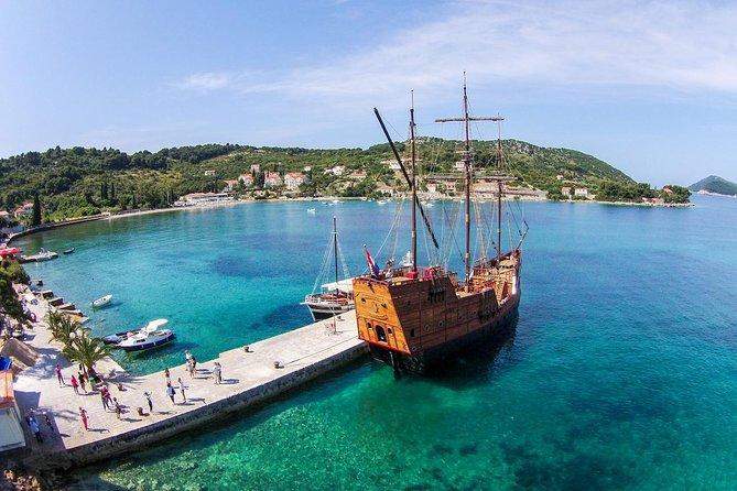 Kolocep Volledige dag excursie met Karaka Cruise en kajakavontuur vanuit Dubrovnik