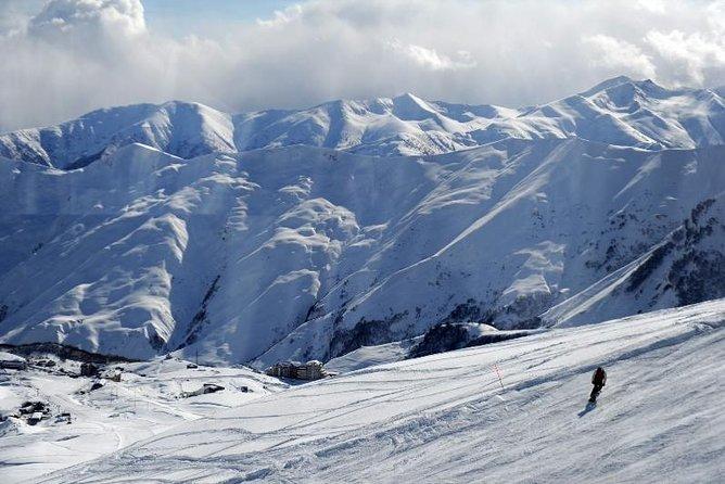 5 days winter tour in Gudauri