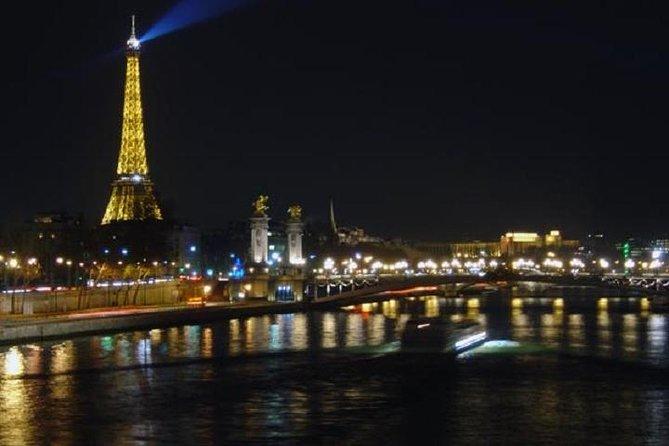 Paris om natten vandretur med en kunsthistorisk guide