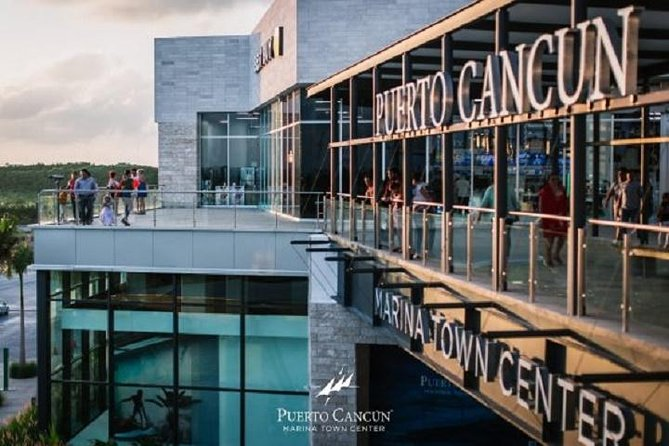 Cancun Shopping Malls markets and bargains including new Marina Town Center