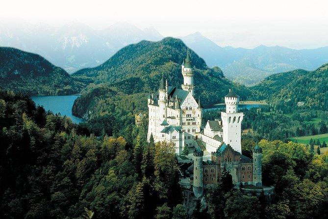 Visite nocturne indépendante Route romantique à Füssen au départ de Munich: châteaux de Linderhof, Neuschwanstein et Hohenschwangau